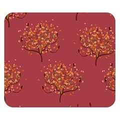 Beautiful Tree Background Pattern Double Sided Flano Blanket (Small)