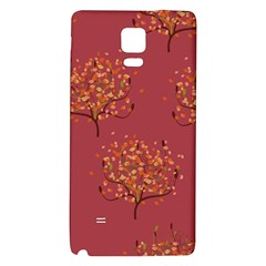 Beautiful Tree Background Pattern Galaxy Note 4 Back Case