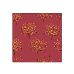 Beautiful Tree Background Pattern Satin Bandana Scarf
