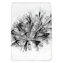 High Detailed Resembling A Flower Fractalblack Flower Flap Covers (l)