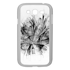 High Detailed Resembling A Flower Fractalblack Flower Samsung Galaxy Grand DUOS I9082 Case (White)