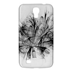 High Detailed Resembling A Flower Fractalblack Flower Samsung Galaxy Mega 6.3  I9200 Hardshell Case