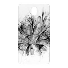 High Detailed Resembling A Flower Fractalblack Flower Samsung Galaxy Note 3 N9005 Hardshell Back Case