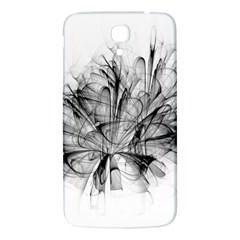 High Detailed Resembling A Flower Fractalblack Flower Samsung Galaxy Mega I9200 Hardshell Back Case