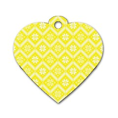 Folklore Dog Tag Heart (Two Sides)