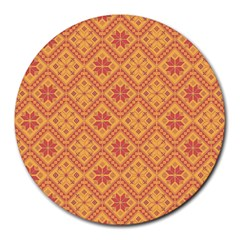 Folklore Round Mousepads