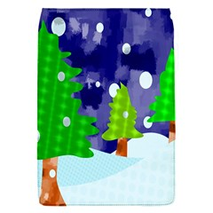Christmas Trees And Snowy Landscape Flap Covers (S)