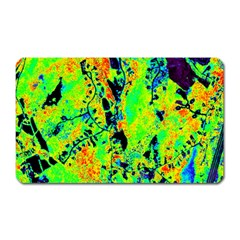 Bow Canopy Height Satelite Map Magnet (rectangular)