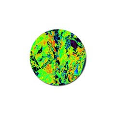 Bow Canopy Height Satelite Map Golf Ball Marker (4 Pack)