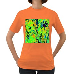 Bow Canopy Height Satelite Map Women s Dark T Shirt