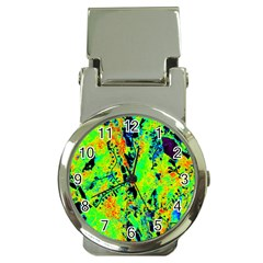 Bow Canopy Height Satelite Map Money Clip Watches