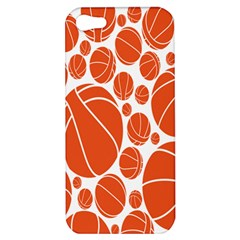 Basketball Ball Orange Sport Apple Iphone 5 Hardshell Case