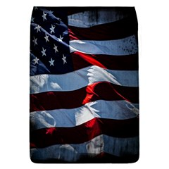 Grunge American Flag Background Flap Covers (S)