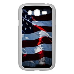 Grunge American Flag Background Samsung Galaxy Grand Duos I9082 Case (white)