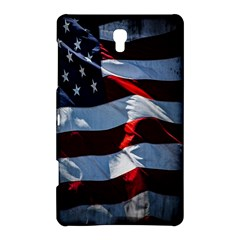Grunge American Flag Background Samsung Galaxy Tab S (8 4 ) Hardshell Case