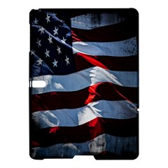 Grunge American Flag Background Samsung Galaxy Tab S (10.5 ) Hardshell Case