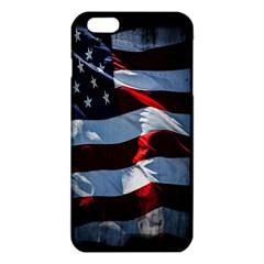 Grunge American Flag Background iPhone 6 Plus/6S Plus TPU Case