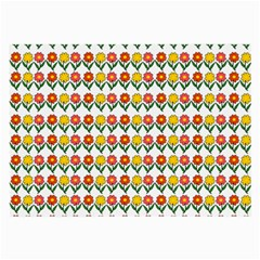 Flowers Large Glasses Cloth (2-Side)