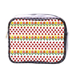 Ladybugs and flowers Mini Toiletries Bags