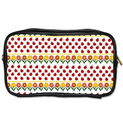 Ladybugs and flowers Toiletries Bags 2-Side