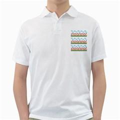 Ladybugs and flowers Golf Shirts