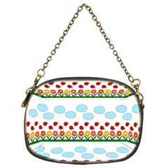 Ladybugs and flowers Chain Purses (Two Sides)