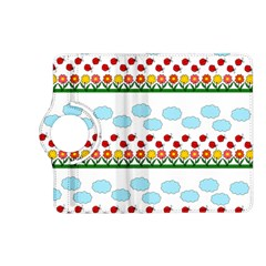Ladybugs And Flowers Kindle Fire Hd (2013) Flip 360 Case