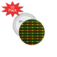 Flowers 1.75  Buttons (10 pack)