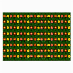 Flowers Large Glasses Cloth (2 Side)
