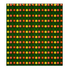 Flowers Shower Curtain 66  x 72  (Large)