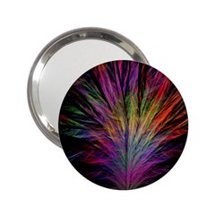Fractal In Many Different Colours 2 25  Handbag Mirrors