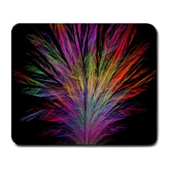 Fractal In Many Different Colours Large Mousepads