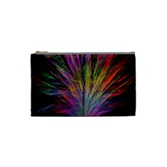 Fractal In Many Different Colours Cosmetic Bag (Small)