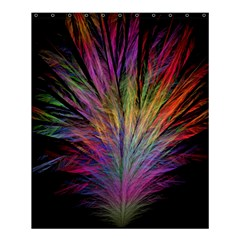 Fractal In Many Different Colours Shower Curtain 60  x 72  (Medium)