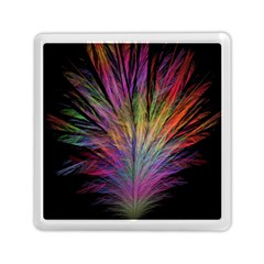 Fractal In Many Different Colours Memory Card Reader (square)