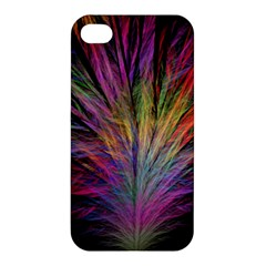Fractal In Many Different Colours Apple iPhone 4/4S Hardshell Case