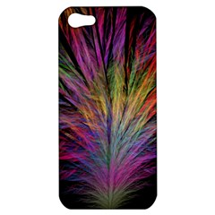 Fractal In Many Different Colours Apple Iphone 5 Hardshell Case
