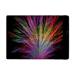 Fractal In Many Different Colours Apple Ipad Mini Flip Case