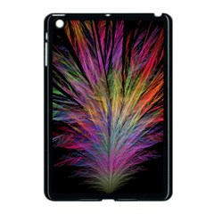 Fractal In Many Different Colours Apple iPad Mini Case (Black)