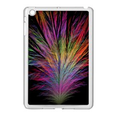 Fractal In Many Different Colours Apple iPad Mini Case (White)