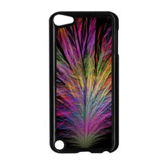 Fractal In Many Different Colours Apple iPod Touch 5 Case (Black)