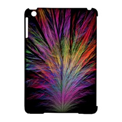 Fractal In Many Different Colours Apple iPad Mini Hardshell Case (Compatible with Smart Cover)