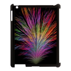 Fractal In Many Different Colours Apple iPad 3/4 Case (Black)