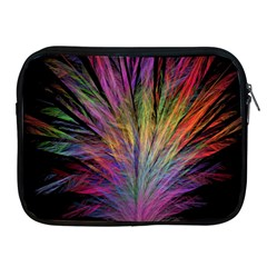 Fractal In Many Different Colours Apple Ipad 2/3/4 Zipper Cases