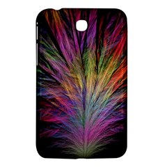 Fractal In Many Different Colours Samsung Galaxy Tab 3 (7 ) P3200 Hardshell Case