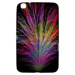 Fractal In Many Different Colours Samsung Galaxy Tab 3 (8 ) T3100 Hardshell Case