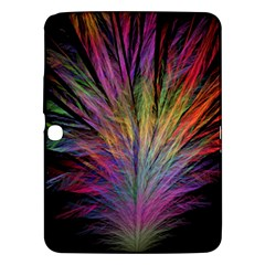 Fractal In Many Different Colours Samsung Galaxy Tab 3 (10.1 ) P5200 Hardshell Case