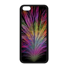 Fractal In Many Different Colours Apple iPhone 5C Seamless Case (Black)