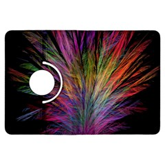 Fractal In Many Different Colours Kindle Fire HDX Flip 360 Case