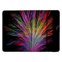 Fractal In Many Different Colours Samsung Galaxy Tab Pro 12.2  Flip Case